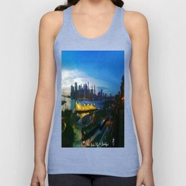 New York City as viewed from the Beautiful Brooklyn Heights Unisex Tank Top