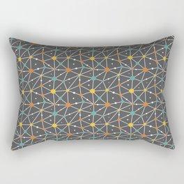Brain And Neuron Rectangular Pillow