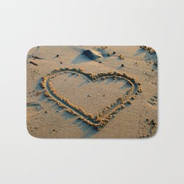 Traces in Sand Bath Mat