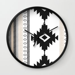 Pueblo in Tan Wall Clock