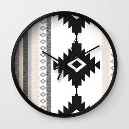 Pueblo in Tan Wall Clock