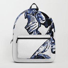 Human Skull Backpack