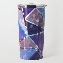 Sparkle Geometric Travel Mug