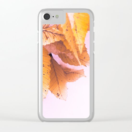 I Won't Let Go Clear iPhone Case