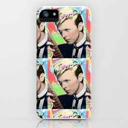 bowieinterviewmagazine iPhone Case