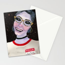 Hello My Name Is: Dead Inside Stationery Cards