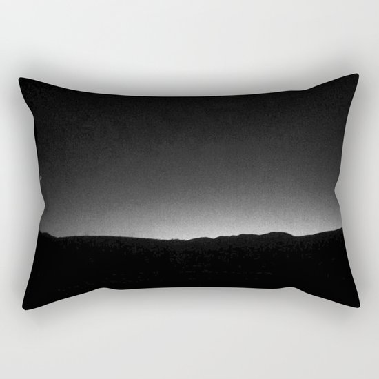 FRENCH LANDSCAPE AT NIGHT  Rectangular Pillow