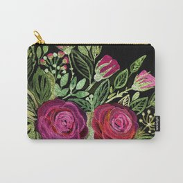 Rustic patchwork Carry-All Pouch