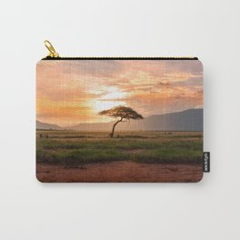Tsavo National Park, East Kenya, Africa. Carry-All Pouch