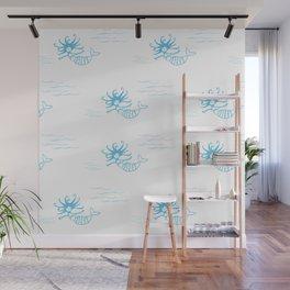 moana marmaid - new zealand sea collection Wall Mural