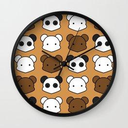 Three Little Bears Wall Clock