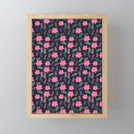 Little blossom Framed Mini Art Print