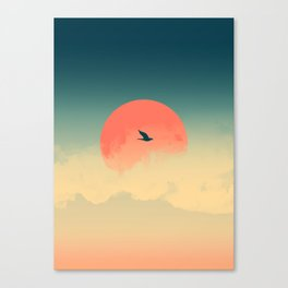 Lonesome Traveler Canvas Print
