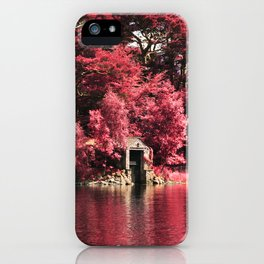 Magical Red Forest iPhone Case