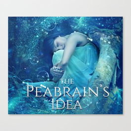 The Peabrain's Idea Canvas Print