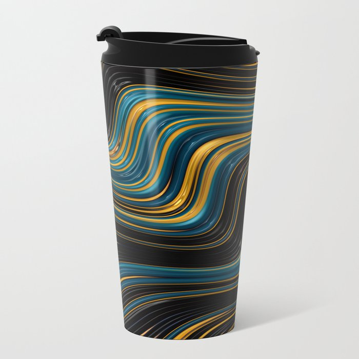 Go With the Flow Metal Travel Mug