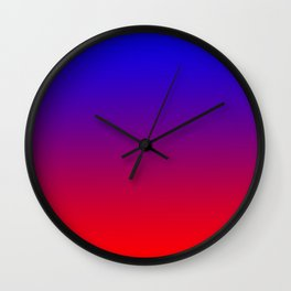 Radiant Ombre Wall Clock