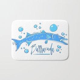 Big Blue Barracuda Bath Mat