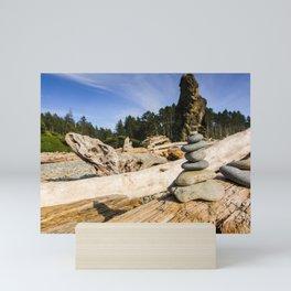 Ruby Beach - Olympic National Park Mini Art Print