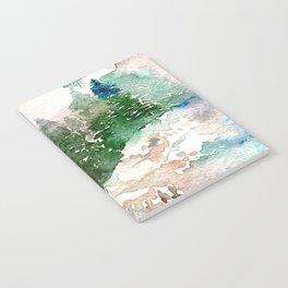 Entre arboles y nieve Notebook