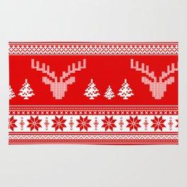 Winter pattern Rug