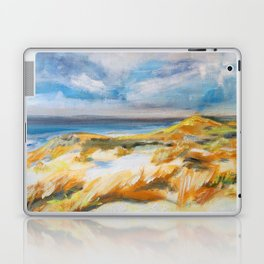 The Dunes in Ostend Laptop & iPad Skin
