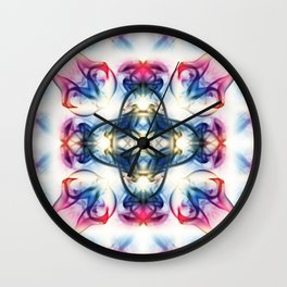 Smoke Art 54 Wall Clock