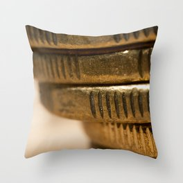It's all about making that bank. Throw Pillow