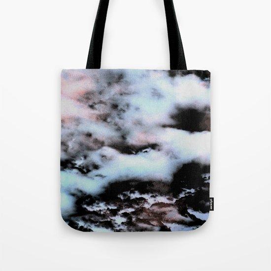 Ice and Smoke Tote Bag