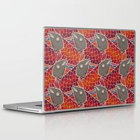 pisces Laptop & iPad Skins featuring PISCES by Wagner Campelo