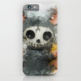 Dead Mouse with cheese iPhone Case