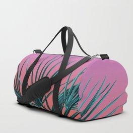 Pink Palm Life - Miami Vaporwave Duffle Bag