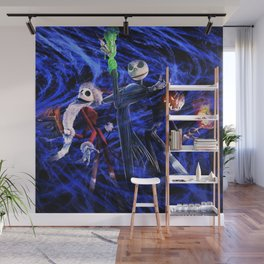 Nightmare Of Shadow Wall Mural