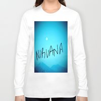 nirvana Long Sleeve T-shirts featuring Nirvana by SLIDE