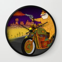 Corgi Killa Wall Clock