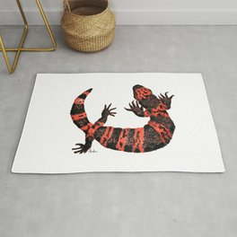 Gila Monster Rug