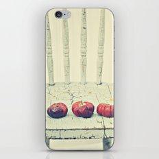 Three Pumpkins iPhone & iPod Skin