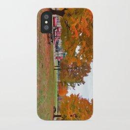 Autumn Playground iPhone Case
