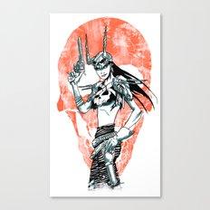 Gunslinger Girl Canvas Print