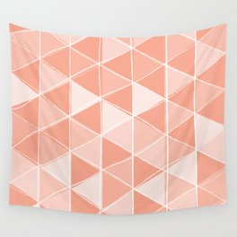 Coral Triangles Wall Tapestry