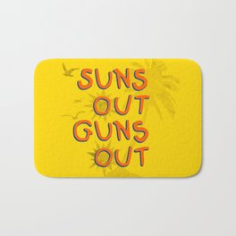 Guns Out Bath Mat