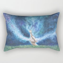 Everywhere I Go Rectangular Pillow