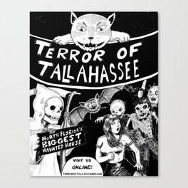 Terror of Tallahassee 2012 Poster Canvas Print