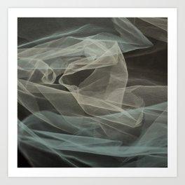 Abstract veil background 5 Art Print