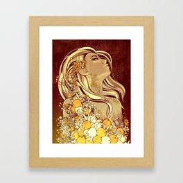 Idunn Framed Art Print