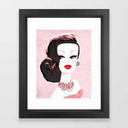 Barbie in Jewels Framed Art Print