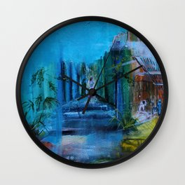 Landscapes-Marocco Wall Clock
