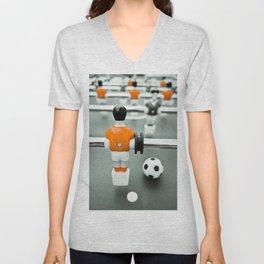 Table Football 02B - Defender - Orange (everyday 30.01.2017) Unisex V-Neck
