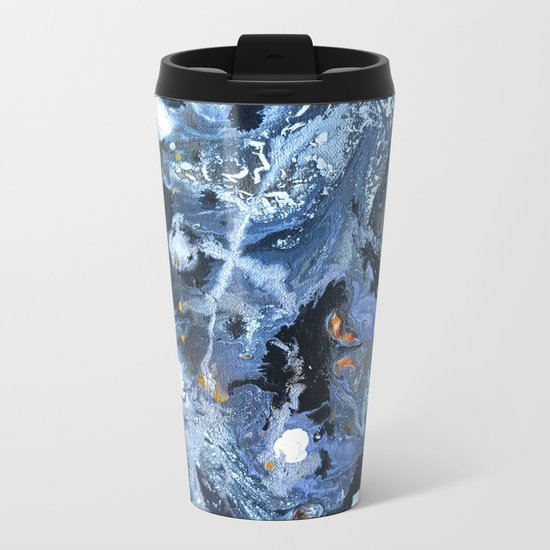 Lunar Surface Metal Travel Mug