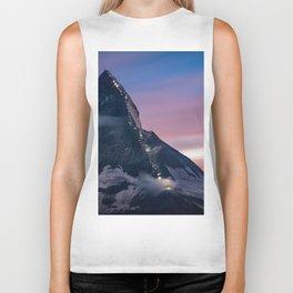 Matterhorn, Switzerland #society6 #decor #buyart Biker Tank